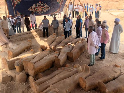 El anuncio fue hecho por el Mnisterio de Cultura de Egipto. El gobierno se entusiasma en una reactivación del sector turístico, en crisis por la violencia desatada desde 2011 (@AntiquitiesOf)
