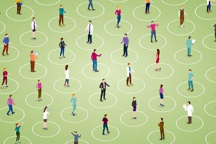 Para que se cumpla la inmunidad de rebaño, por lo menos, el 60% de la población se debe contagiar (Shutterstock)