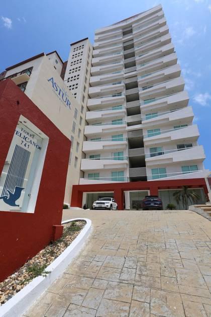 Tiene cuatro departamentos en la Torre Pelicano en Boca del Río. (Foto: Cuartoscuro)
