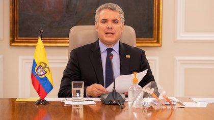 28/04/2020 El presidente de Colombia, Iván Duque SOCIEDAD SUDAMÉRICA COLOMBIA INTERNACIONAL PRESIDENCIA DE COLOMBIA
