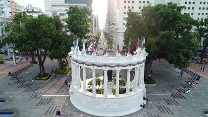 La Rotonda, Guayaquil (Crédito: Prensa Municipio de Guayaquil)