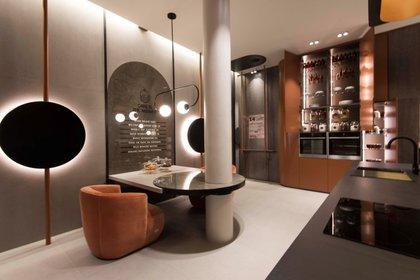 La cocina de autor por Johnson Acero diseñada por María Delia Zaccagnini fue la ganadora de la Medalla de Oro a la Arquitectura y Diseño de Interior 2019