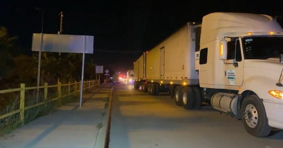 They rescued more than 800 migrants in Tamaulipas;  were traveling inside refrigeration containers