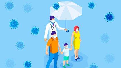 Las personas que se recuperan de ciertas infecciones virales suelen desarrollar respuestas de anticuerpos específicos de virus que proporcionan una inmunidad protectora sólida contra la reexposición (Shutterstock)