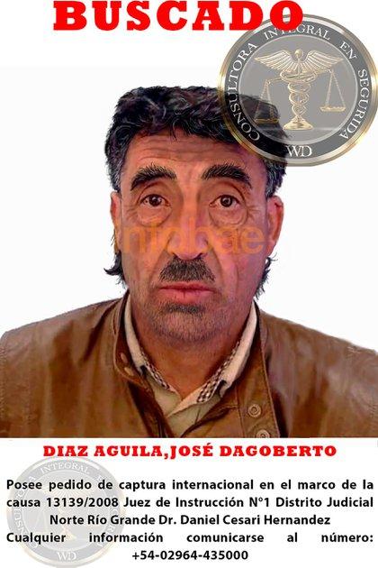 El organismo internacional elaboró cuatro identikits con su rostro