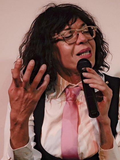 Marlene Wayar. (Foto: Pili Cabrera)