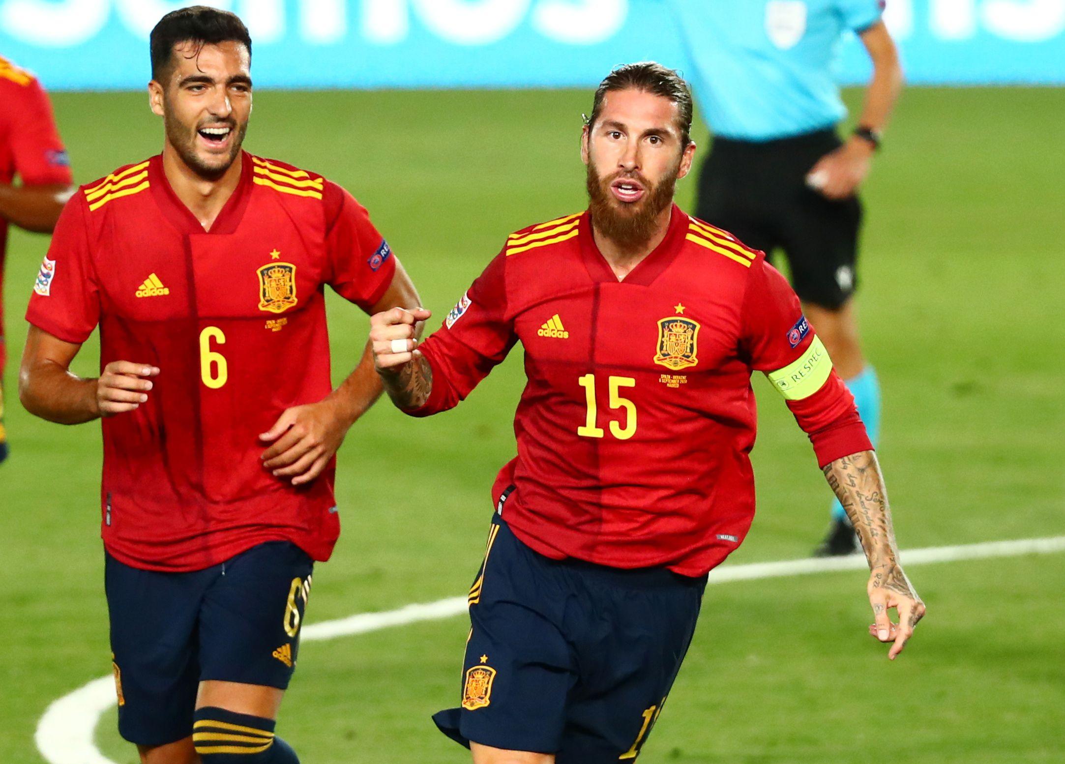 Sergio Ramos es el defensor con más goles en un seleccionado (Reuters)