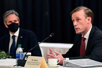 Jake Sullivan, asesor de Seguridad Nacional de la Casa Blanca (Frederic J. Brown/Pool via REUTERS)