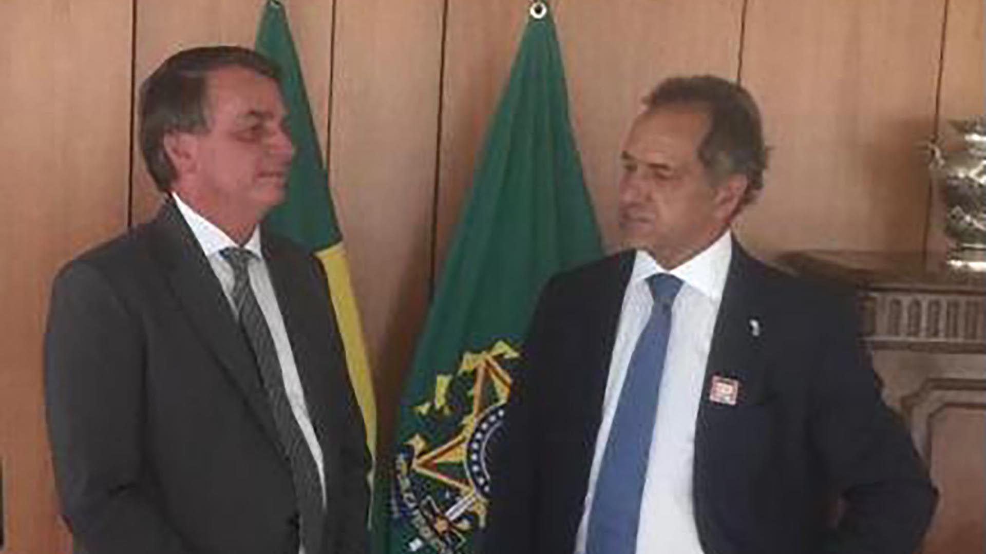 Jair Bolsonaro Daniel Scioli - Brasil