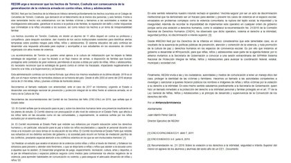 Comunicado Red por los Derechos de la Infancia en México (Foto: http://derechosinfancia.org.mx)