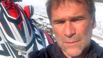 La víctima, el empresario Norberto Velay