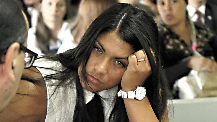 Rocío Santa Cruz fue condenada a cuatro años de prisión (El Territorio)