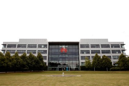 La sede de Huawei en Reading, Reino Unido. Foto: REUTERS/Matthew Childs