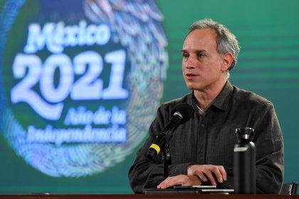 Por instrucción médica, López-Gatell recibirá oxigenación suplementaria (Foto: EFE / Presidencia de México)