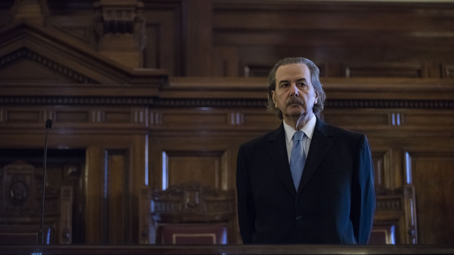 El juez Juan Carlos Maqueda tuvo bajo su órbita la obra social del Poder Judicial. (foto Adrián Escandar)