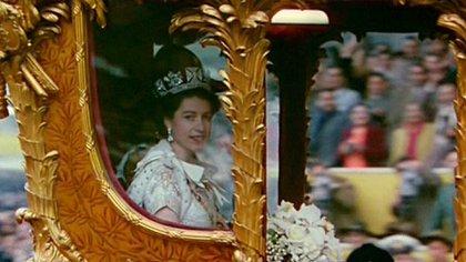 Isabel II - coronacion
