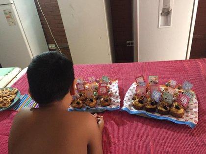 Coronavirus hogar de niños