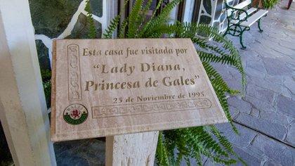 En 1995 Lady Di estuvo en Gaiman y tomó el tradicional té galés (elviajeromarcopolo.com)