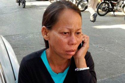 Yajaira Martínez, la madre de la niña que provocó el incendio de nueve casas en un barrio humilde de Barranquilla (El Heraldo)