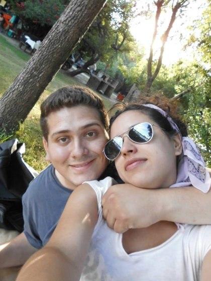 Romina Sánchez y Nicolás Carabajal,