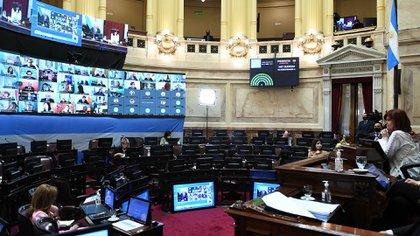 El Senado le dio media sanción a la ley que modifica la elección del Procurador General (Foto: CELESTE SALGUERO /Comunicación Senado)