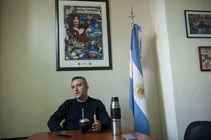 Larroque responde directamente a la conducción de Cristina Kirchner Foto: Pablo Duberti/AgLaPlata
