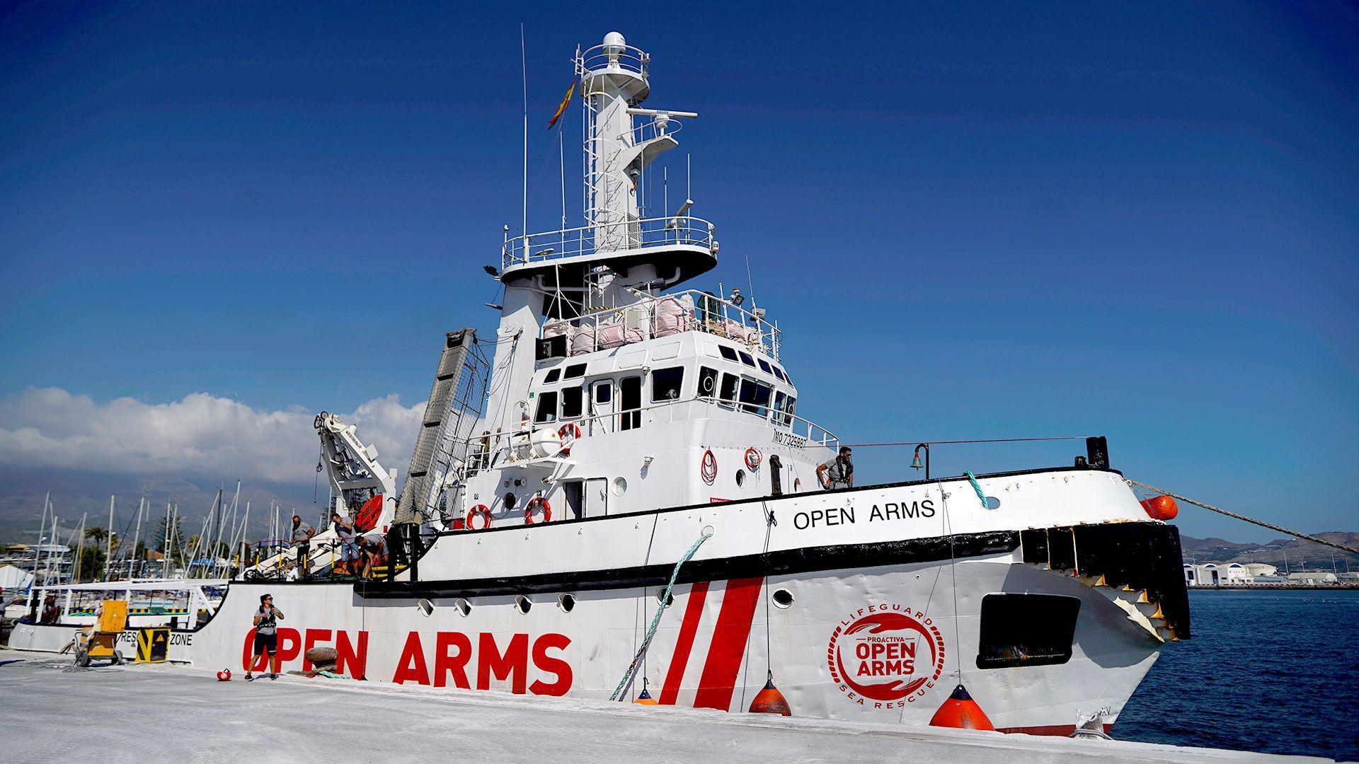 El Open Arms se dirige a Lampedusa con 147 migrantes a bordo (Reuters)