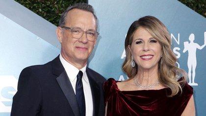 Tom Hanks y Rita Wilson (Crédito: Shutterstock)