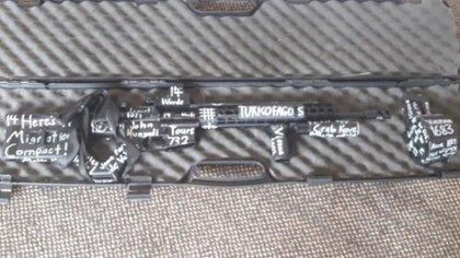 El arma utilizada por el atacante.