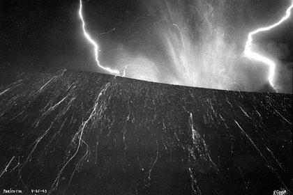 El volcán estuvo activo por casi 10 años (Foto: Rafael García/SINAFO/INAH)