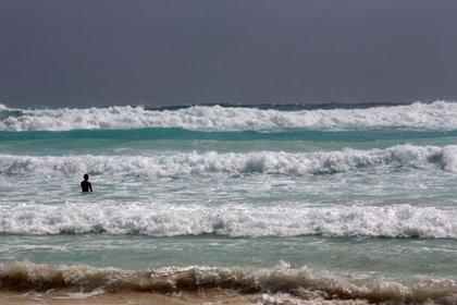 El huracán Zeta cambió su trayectoria al sur de Playa del Carmen (Foto: EFE)