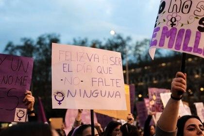 """La activista adelantó que la manifestación del 8M será """"histórica"""" (Foto: Jesús Hellín/Europa Press)"""