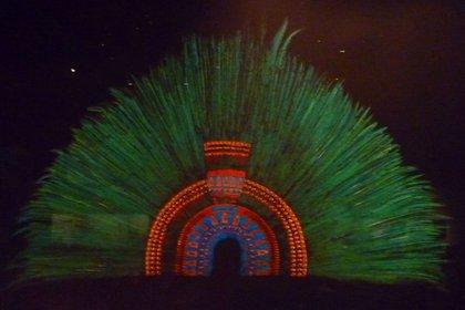 El penacho tiene 222 plumas (Foto: Wikipedia)