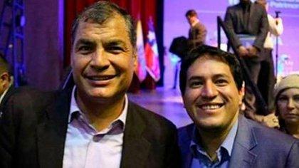 Andrés Arauz es el delfín político del ex presidente Rafael Correa, quien está condenado por corrupción