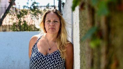 Alika Kinan trabaja en la UNSAM y es activista contra la trata y la explotación sexual (María Eugenia Cerutti)