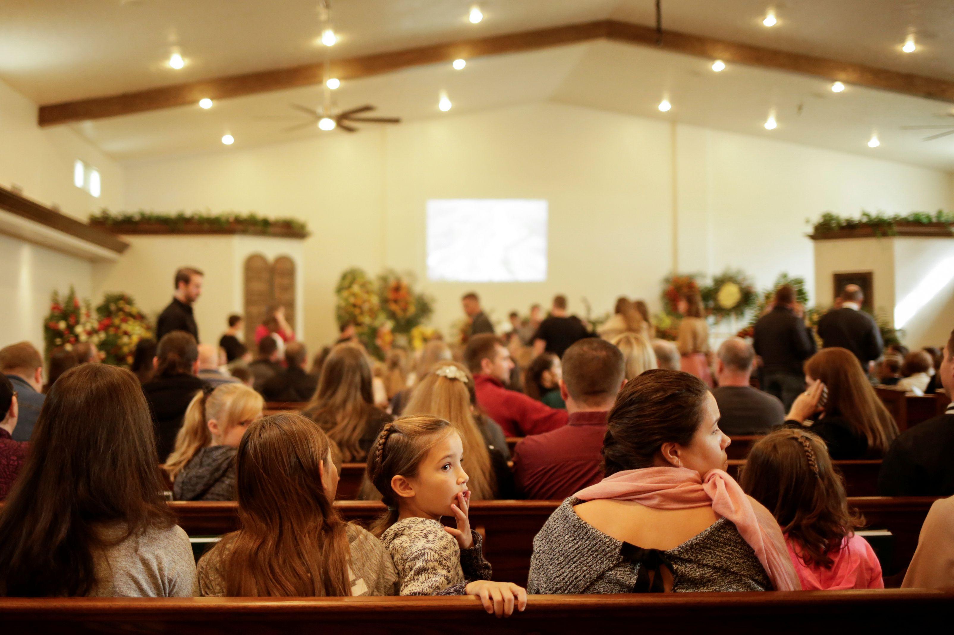 Los funerales de  Christina Marie Langford Johnson (Foto: REUTERS/Jose Luis Gonzalez)