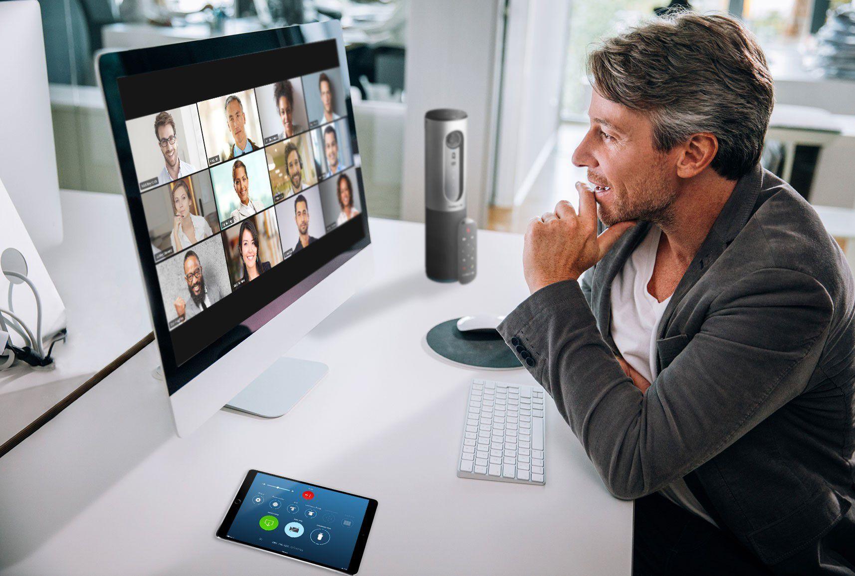 Una imagen de una videoconferencia a través de Zoom (Zoom Video Communications)