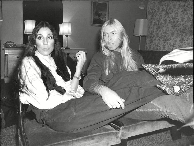 Cher con su ex esposo Greg Allman /Shutterstock