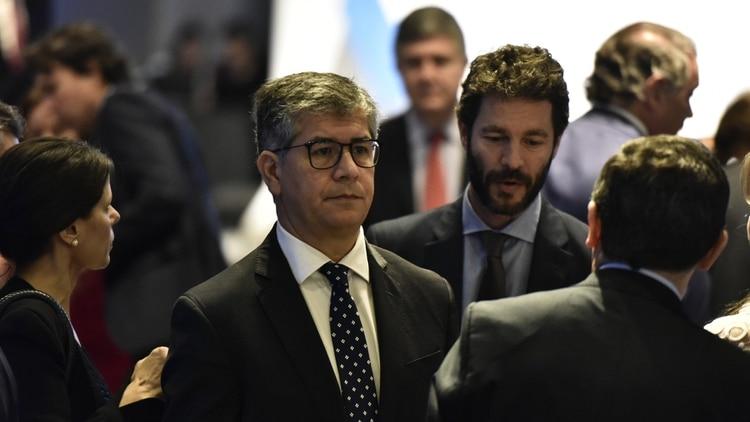 El Juez Néstor Costabel, presidente del TOF 4 que juzga a Báez por lavado