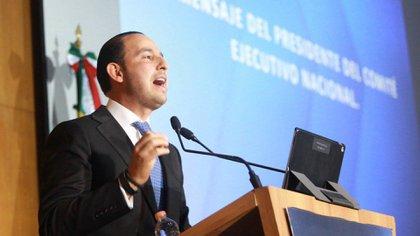 Marko Cortés aseguró que con una nueva mayoría en la Cámara de Diputados, el PAN evitará la destrucción del Estado de Derecho (Foto: Cortesía PAN)