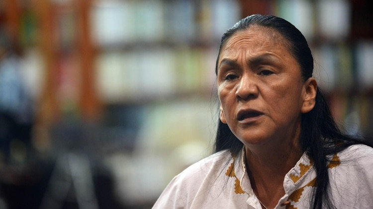 Milagro Sala fue condenada a cuatro años de prisión (Télam)
