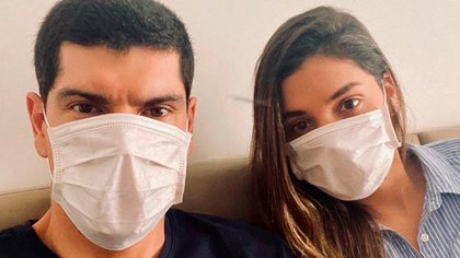 Carlos Lampe y su esposa ya se recuperaron del coronavirus (@CarlosLampe1)