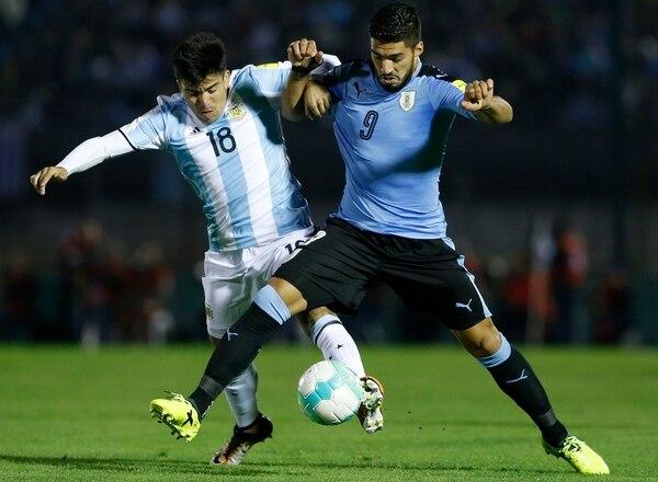 Marcos Acuña figura dentro de la lista de 23 futbolistas de Argentina que disputarán el Mundial de Rusia 2018 (Getty Images)