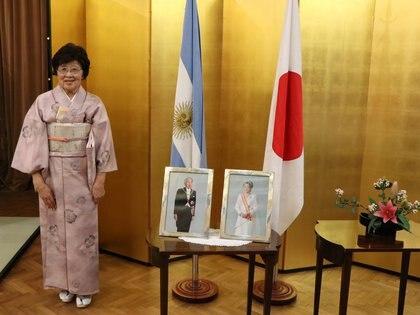 La Sensei Emiko Arimidzu, condecorada por el emperador de Japón (Embajada de Japón en Argentina)