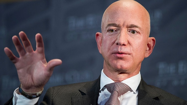 Jeff Bezos, fundador de Amazon (AP)