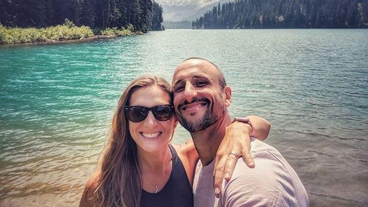 Many y Manu, una pareja que lleva 23 años de relación
