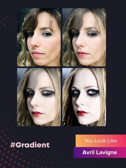 Gradient compara la fotografía que se sube con los rostros de famosos y da su veredicto.