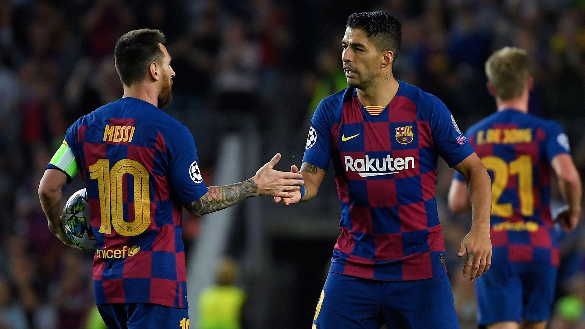 La sociedad Mssi-Suárez, que tantas alegrías le aportó al Barcelona (Foto: LLUIS GENE / AFP)