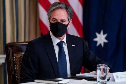 En la imagen, el secretario de Estado de Estados Unidos, Antony Blinken. EFE/Jim Lo Scalzo/Archivo