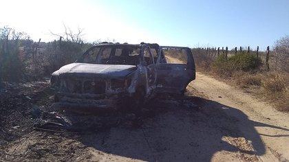 Autoridades de Tamaulipas encontraron 19 cuerpos calcinados en la frontera chica (Foto: Twitter/@FuriaNegra7)